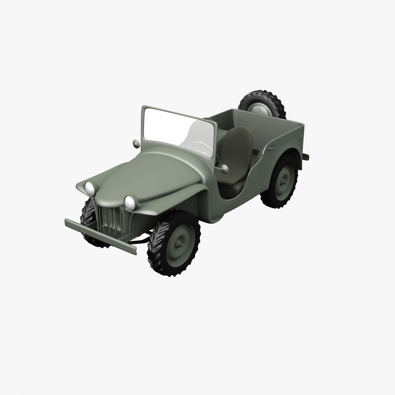 bantam vehicle 3d model