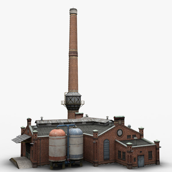 3d old factory