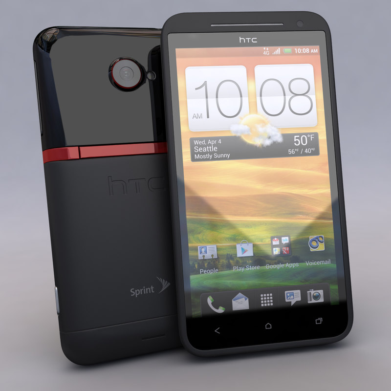 3d new htc evo 4g model