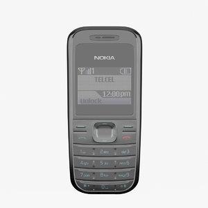 nokia 1208 3d max