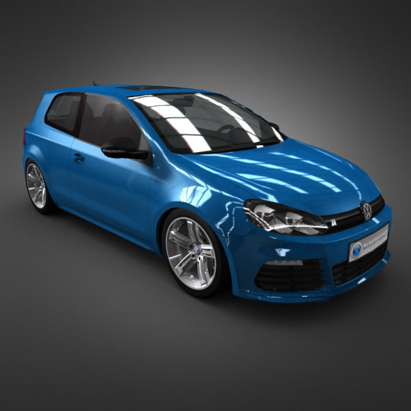 3ds max volkswagen r 2011 cars
