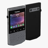 3d blackberry pda 9981 model