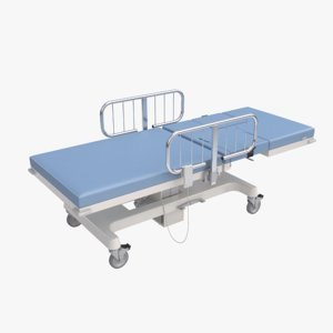 3ds max medical diagnostic table