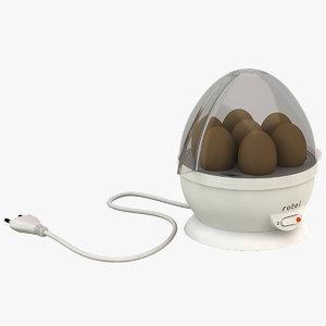 3d egg cooker rotel u14 model