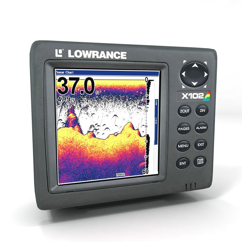max lowrance fish finder