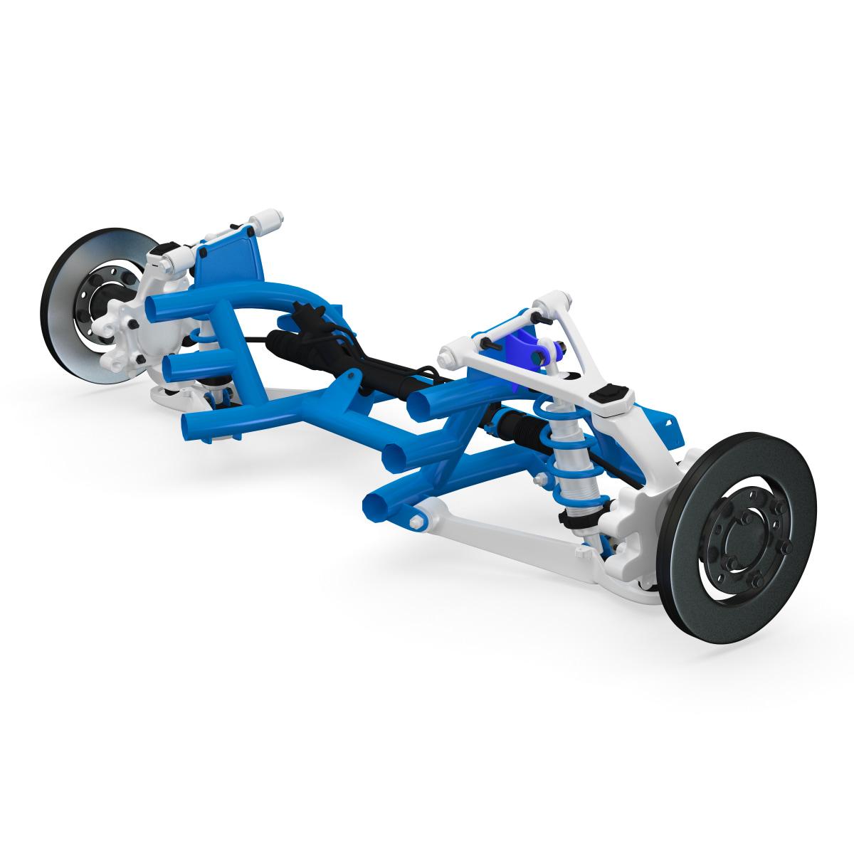 3d suspension 2 model