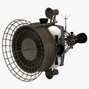 anti satellite target satellite 3D models