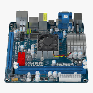 lightwave asrock a440ion motherboard