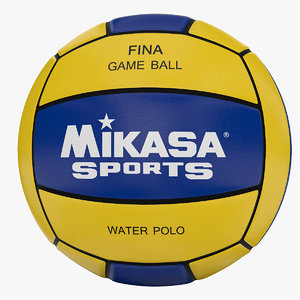 3d model water polo ball
