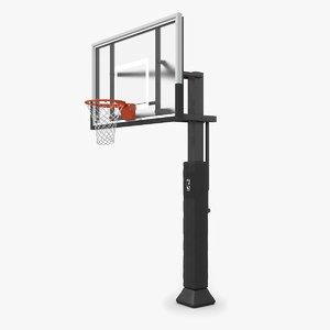 3ds max basketball hoop