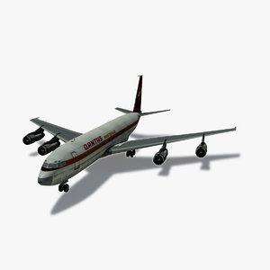 b 707-300 qantas 707 3ds