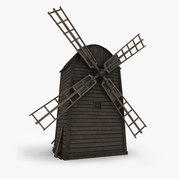 maya windmill wind