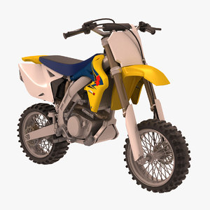 concept minicross suzuki rmz 3d max