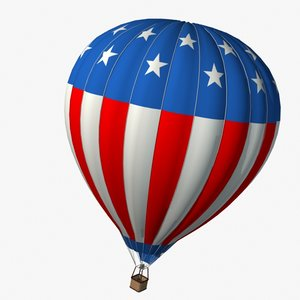 3dsmax hot air balloon