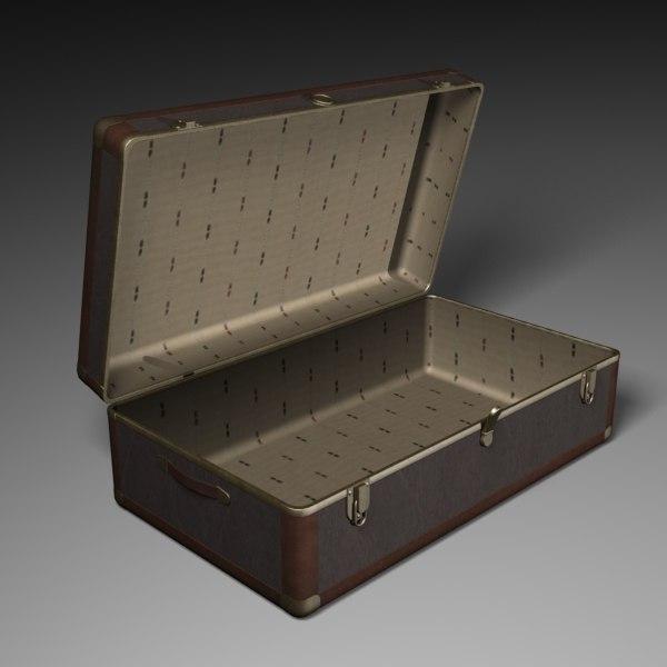 3ds steamer trunk