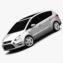 Ford S-Max 3D models
