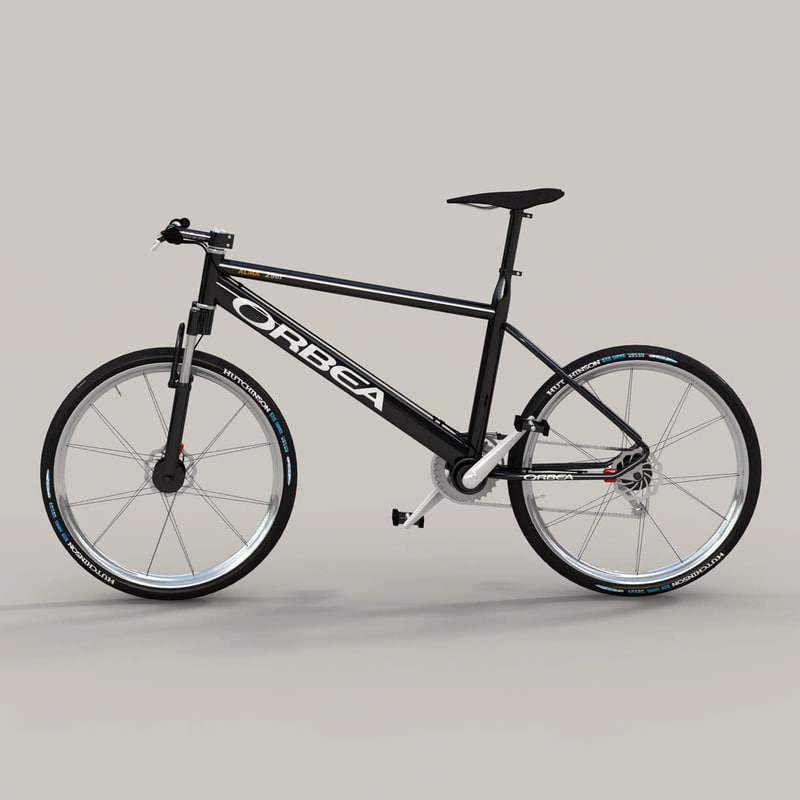 3d model bicycle 2