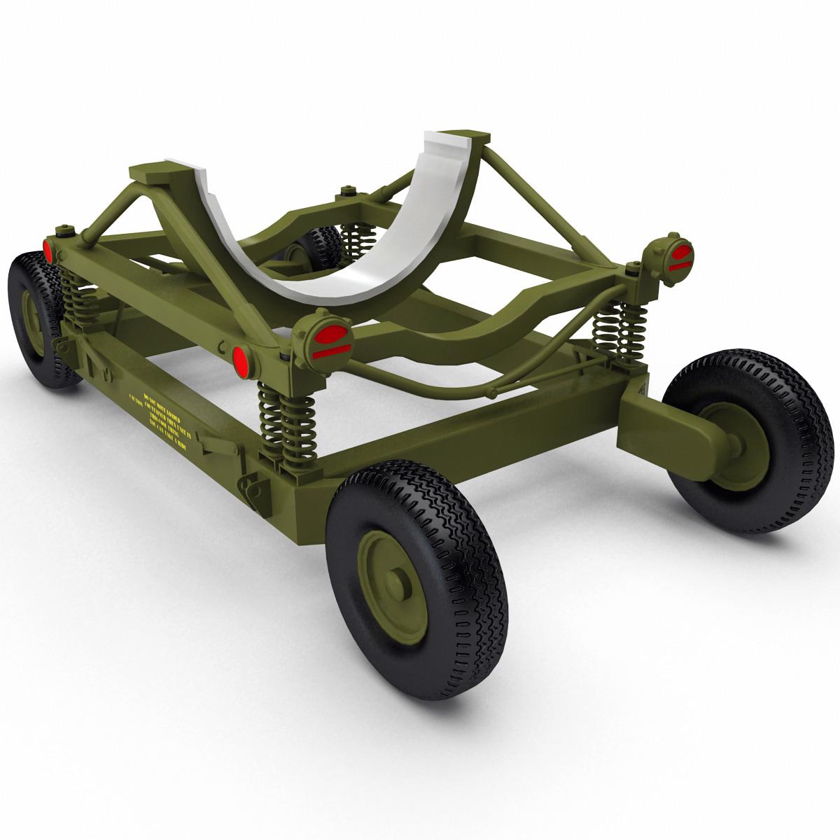 bomb cart 8 3d max