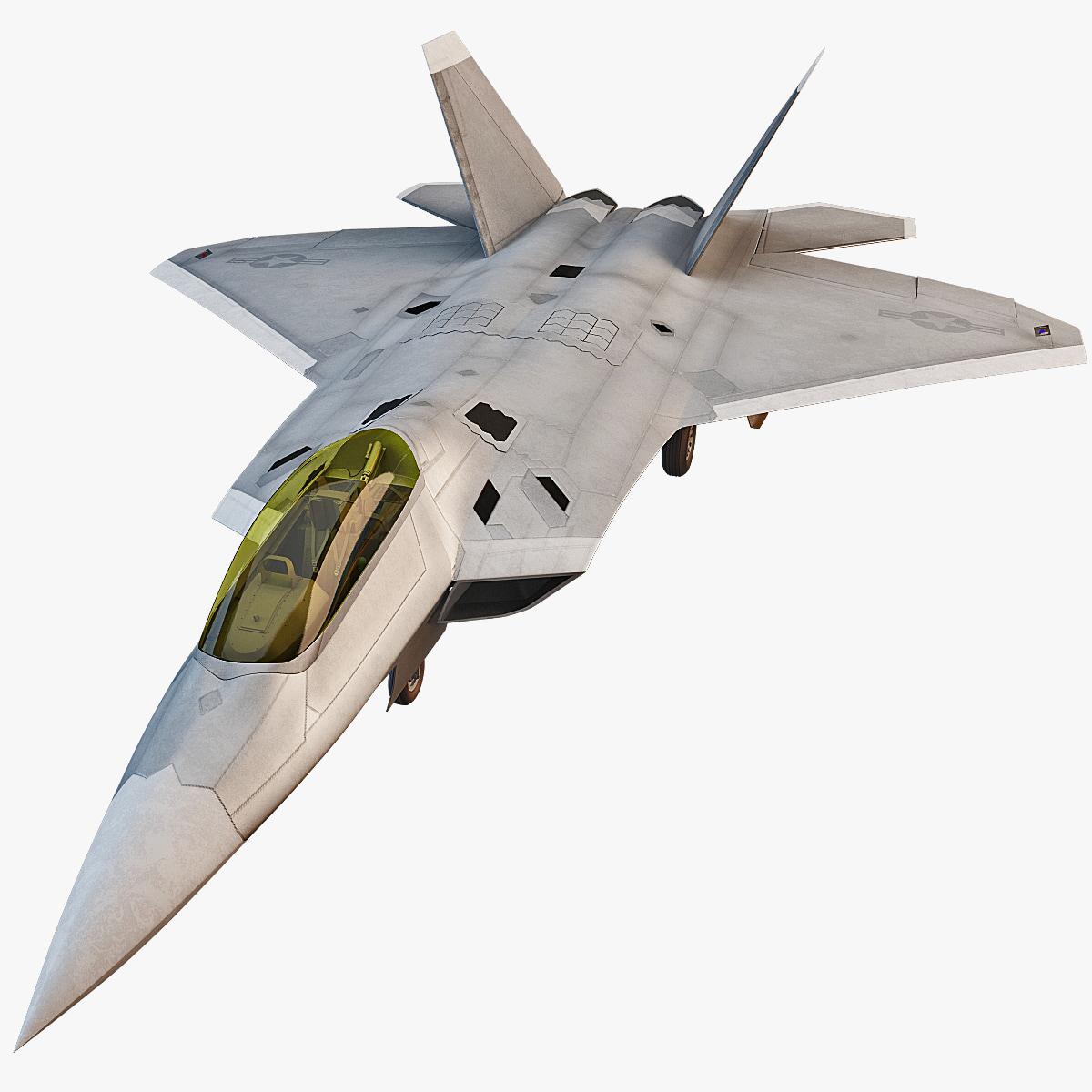 f-22 raptor 4 fighter 3d 3ds