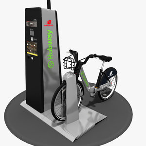 3d hubway boston bixi