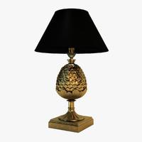 3d chelini lamp nero model