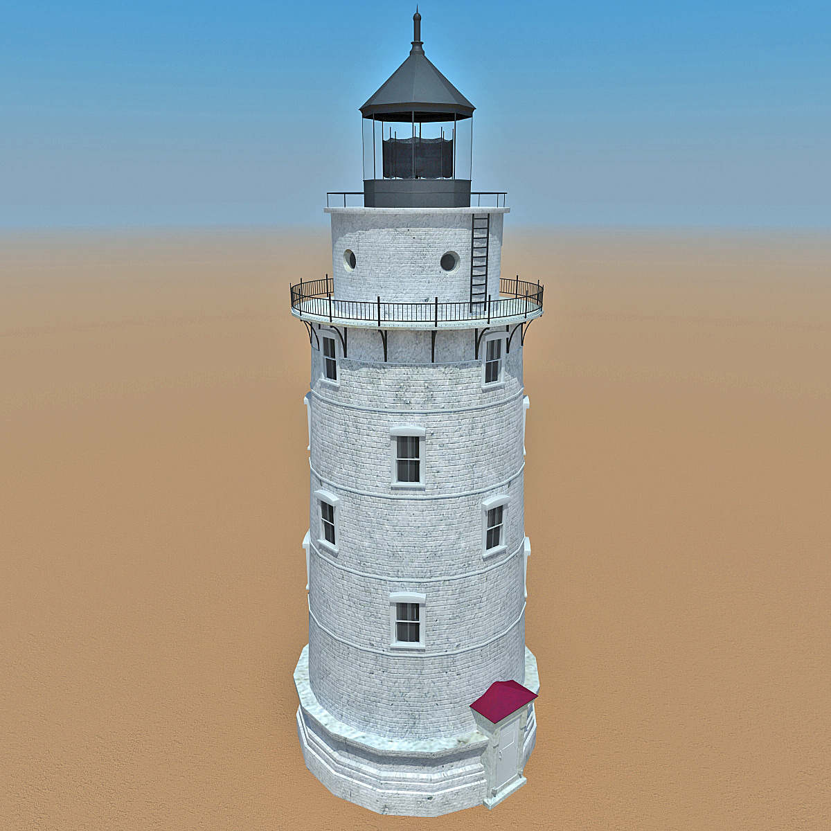 3d lighthouse 6