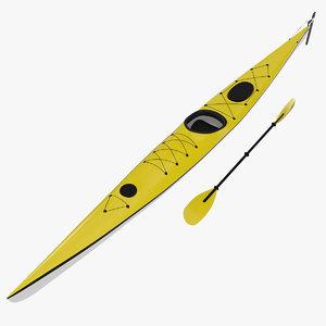dxf sea touring kayak