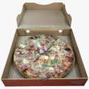 Pizza Box 3D models