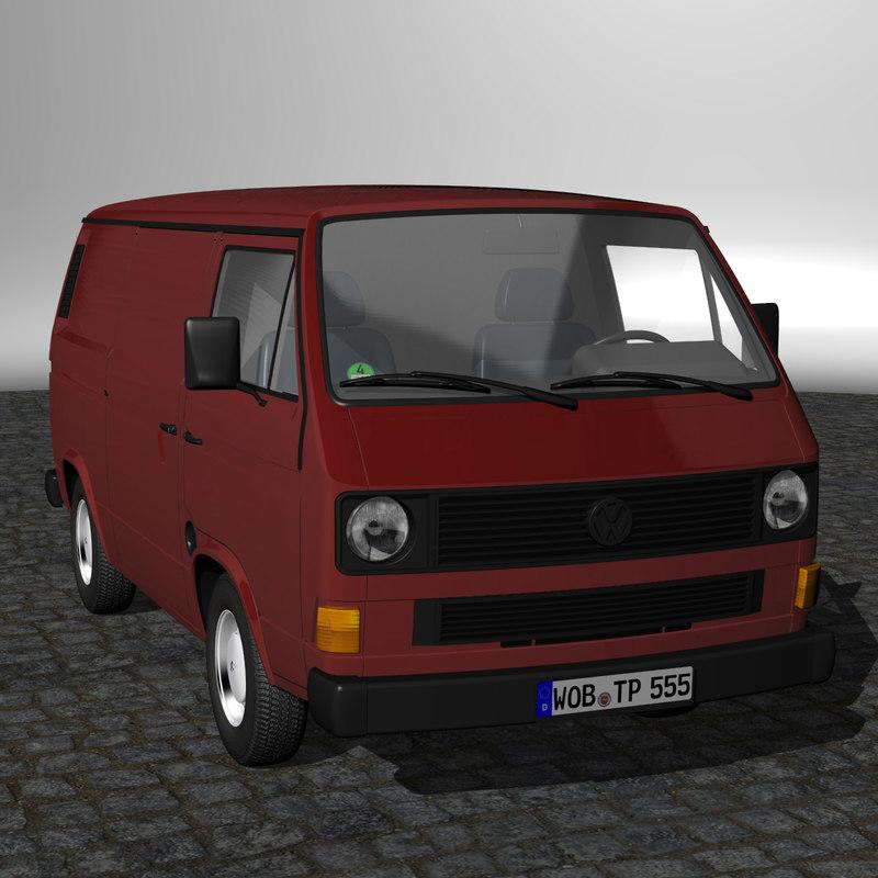 t3 van 3d model