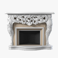 Classic Baroque Fireplace