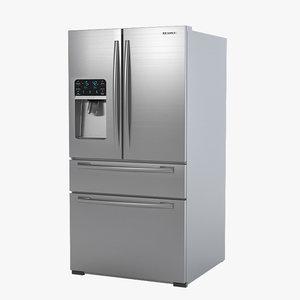 3d samsung rf4287ha refrigerator