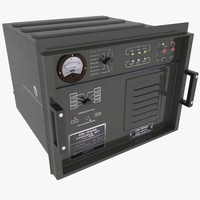 3d max army radio amplifier