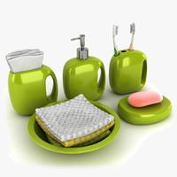 3ds max accessories bathroom bath
