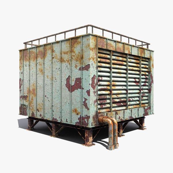 3d model conditioner industrial