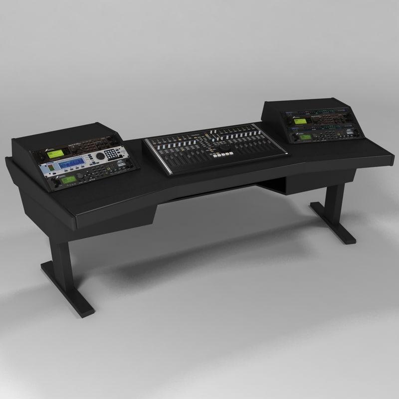 3d argosy studio console desk