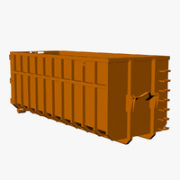 vehicle container industrial 3d model