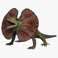 frilled lizard 3d 3ds