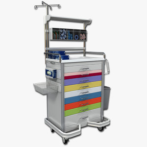 max medical supply cart 1