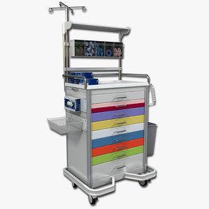 max medical supply cart 1