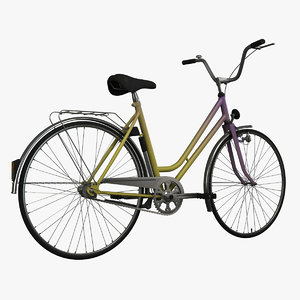 liberta bicycle 3d model