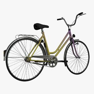 liberta bicycle 3d model