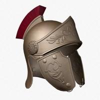 roman helmets 3d model