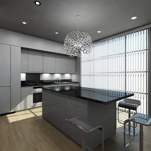 kitchen 2 3d obj