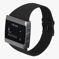 max digital watch prada