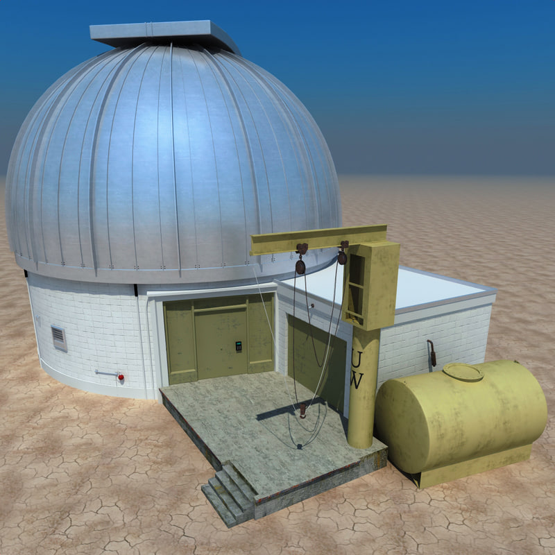 3dsmax infrared observatory