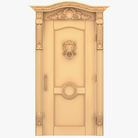 3ds lion head external door