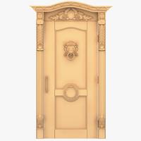 Lion Head External Door