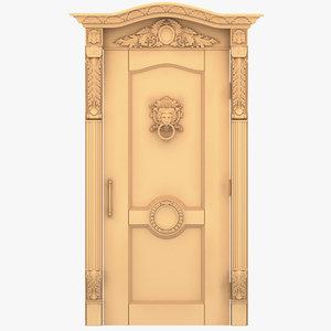 3ds lion head external door
