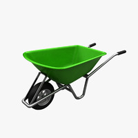 wheelbarrow barrow 3d model