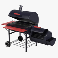 outdoor grill 3d max
